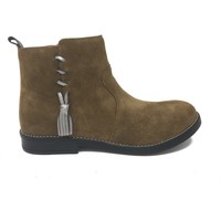 Chaussures Fille Bottines Babybotte CHAUSSURES  NOAM Camel