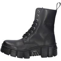 Chaussures Femme Low boots New Rock NRSM-WALL026NBASA NOIR