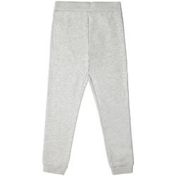 Vêtements Enfant Pantalons de survêtement Guess Pantalon de Jogging Garçon L73Q07 avec Logo Gris