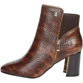 Chaussures Femme Bottines Laura Biagiotti 6580 Marron cuir