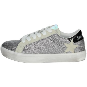 Chaussures Fille Baskets basses Shop Art SA0400 Argent