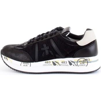 Chaussures Femme Baskets basses Premiata CONNY 4821 noir