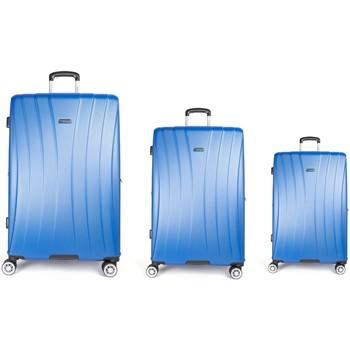 Sacs Femme Valises Rigides Kiwi Saint Trope Les Tropéziennes set 3 valises VTZ20 bleu Bleu