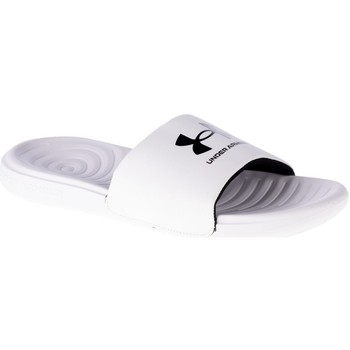 Chaussures Homme Claquettes Under Armour Ansa Fixed Slides Blanc