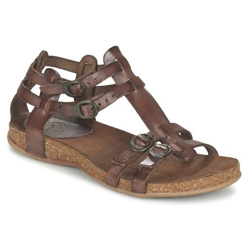 kickers ana marron livraison gratuite avec chaussures sandale femme 78 99. Black Bedroom Furniture Sets. Home Design Ideas