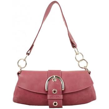 Sacs Femme Sacs porté main Texier Sac à rabat cuir vieilli Fabrication Française  Violet Multicolor