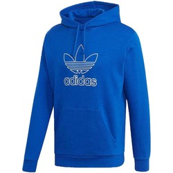 Vêtements Homme Sweats adidas Originals TREF HOOD OUT FELPA CON CAPPUCCIO BLU Bleu