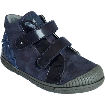 Chaussures Fille Baskets montantes Noel Icary marine