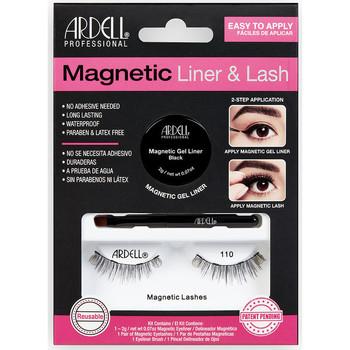 Beauté Femme Mascaras Faux-cils Ardell Magnetic Liner & Lash 110 Liner +  2 lashes