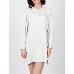 Vêtements Femme Pyjamas / Chemises de nuit Admas Chemise de nuit Do Not Forget To Smile gris Gris
