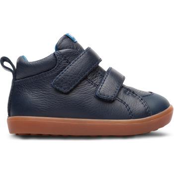 Chaussures Garçon Baskets montantes Camper Baskets cuir PURSUIT bleu