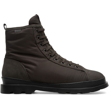 Chaussures Homme Boots Camper Bottines BRUTUS gris