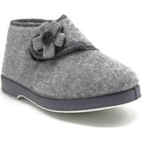 Chaussures Femme Chaussons Maison De Lespadrille 7644 GRIS