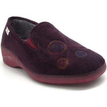 Chaussures Femme Chaussons Maison De Lespadrille 6915 PRUNE