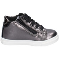 Chaussures Fille Baskets basses Asso AG-9851 GUNMETAL