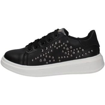 Chaussures Fille Baskets basses Asso AG-8402 NOIR