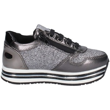 Chaussures Fille Baskets basses Asso AG-9502 GRIS