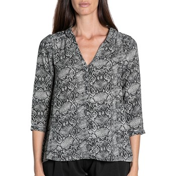 Vêtements Femme Tops / Blouses Deeluxe Blouse LUCE Grey Python