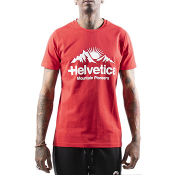 Vêtements Homme T-shirts & Polos Helvetica Tee-shirt Rouge