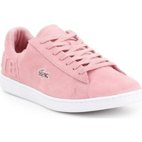 Chaussures Femme Baskets basses Lacoste Carnaby Evo Rose