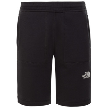 Vêtements Garçon Shorts / Bermudas The North Face FLEECE SHORT Noir