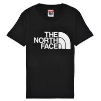 Vêtements Garçon T-shirts manches courtes The North Face EASY TEE Noir