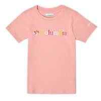 Vêtements Fille T-shirts manches courtes Columbia SWEET PINES GRAPHIC Rose