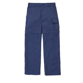 Vêtements Fille Pantalons 5 poches Columbia SILVER RIDGE IV CONVTIBLE PANT Marine