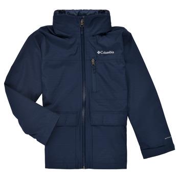 Vêtements Garçon Parkas Columbia VEDDER PARK JACKET Marine
