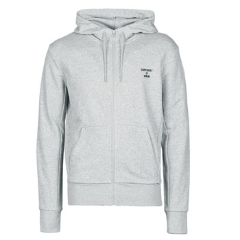 Vêtements Homme Sweats Superdry TRAINING CORE SPORT ZIP HOOD Gris