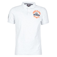 Vêtements Homme T-shirts manches courtes Superdry CLASSIC SUPERSTATE S/S POLO Gris