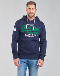 Vêtements Homme Sweats Superdry VL NS HOOD Bleu