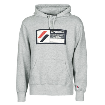 Vêtements Homme Sweats Superdry SPORT JOCK TAG HOOD Gris