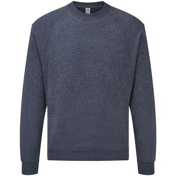 Vêtements Sweats Fruit Of The Loom SS8 Bleu marine chiné