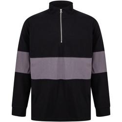 Vêtements Pulls Front Row FR06M Noir/ Gris