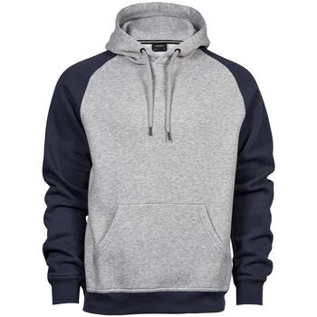 Vêtements Homme Sweats Tee Jays T5432 Gris chiné / bleu marine