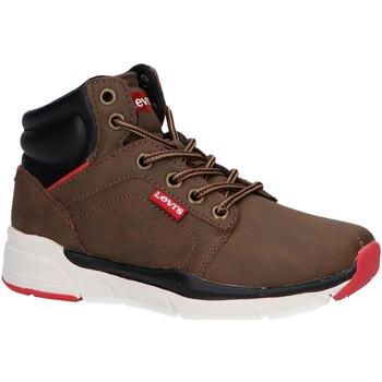 Chaussures Garçon Boots Levi's VORE0050S NEW ASPEN Marr?n
