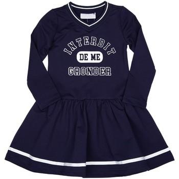 Vêtements Fille Robes courtes Interdit De Me Gronder BELLA Bleu marine