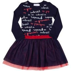 Vêtements Fille Robes courtes Interdit De Me Gronder STITCH Bleu marine
