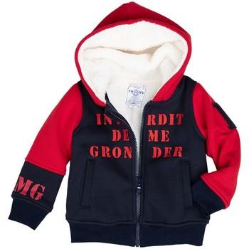 Vêtements Garçon Sweats Interdit De Me Gronder ROCKS Bleu marine