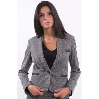 Vêtements Femme Vestes / Blazers Fracomina F120W07030W060F6 Incolore