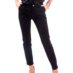Vêtements Femme Chinos / Carrots Fracomina F120W10050W02401 Noir