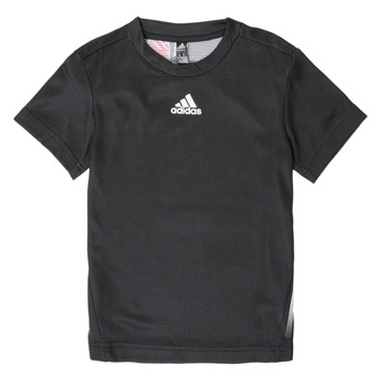 Vêtements Garçon T-shirts manches courtes adidas Performance SRATEE Noir