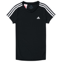 Vêtements Fille T-shirts manches courtes adidas Performance GROISTRE Noir