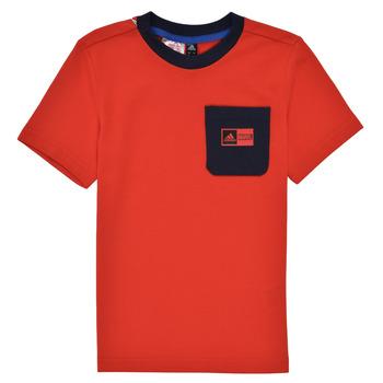 Vêtements Garçon Ensembles enfant adidas Performance LB DY SHA SUM Rouge / Marine