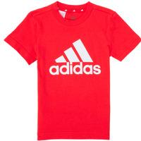 Vêtements Garçon T-shirts manches courtes adidas Performance TINEBRE Rouge