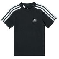 Vêtements Garçon T-shirts manches courtes adidas Performance CAMELIO Noir