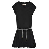 Vêtements Fille Robes courtes Deeluxe TIME Noir