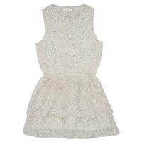 Vêtements Fille Robes courtes Deeluxe JESTA Blanc