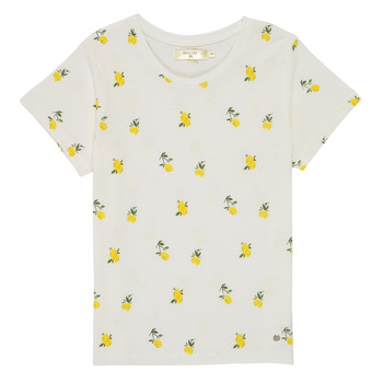Vêtements Fille T-shirts manches courtes Deeluxe NADY Blanc